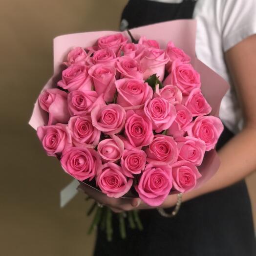31 Роза розовая