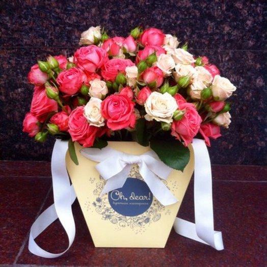Букет Mady: букеты цветов на заказ Flowwow