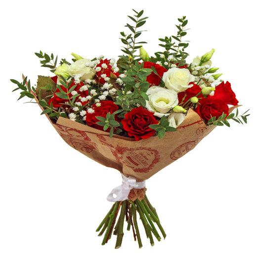 Красная Нота: букеты цветов на заказ Flowwow