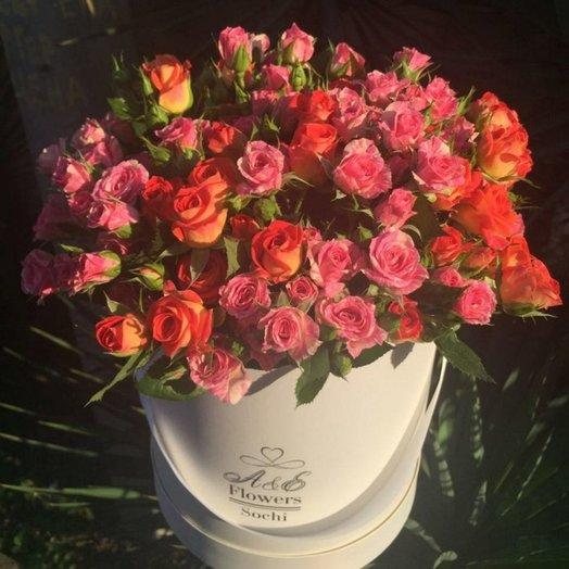 Композиция Малибу: букеты цветов на заказ Flowwow