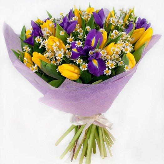 Весениий микс: букеты цветов на заказ Flowwow