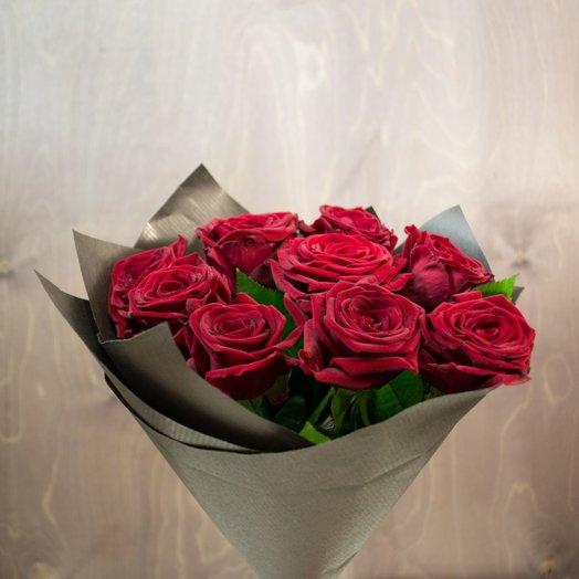 Ред Наоми: 9 шт: букеты цветов на заказ Flowwow