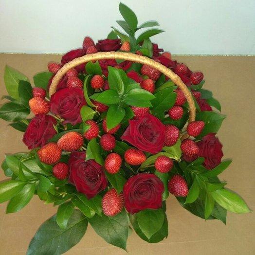 Садовые ягоды: букеты цветов на заказ Flowwow