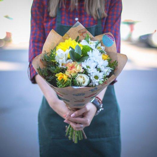 Букет Легкий комплимент: букеты цветов на заказ Flowwow