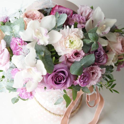 """Аквабокс """"Моя муза"""": букеты цветов на заказ Flowwow"""