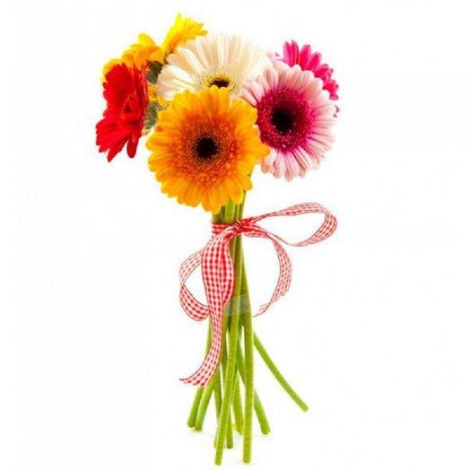 7 гербер: букеты цветов на заказ Flowwow