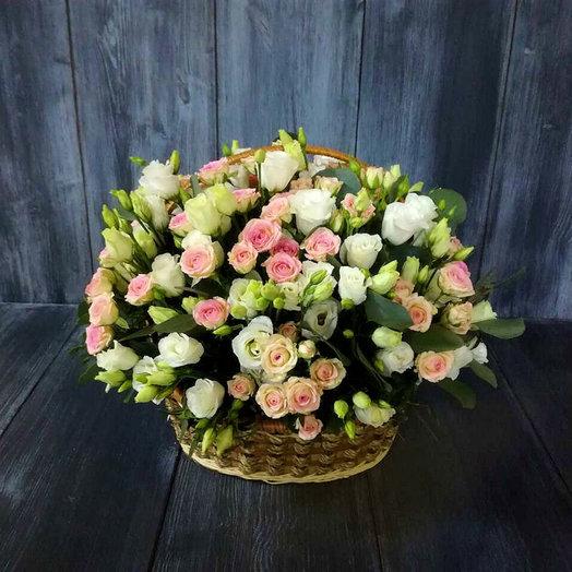 Нежный ангел (Корзина 30): букеты цветов на заказ Flowwow