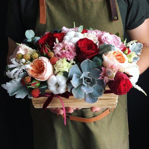 Ящик дня ! : букеты цветов на заказ Flowwow