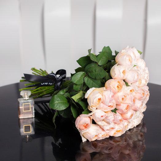 Букет из 51 «Дэвид Остин»: букеты цветов на заказ Flowwow