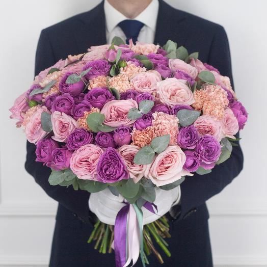 Авторский букет Ruby: букеты цветов на заказ Flowwow