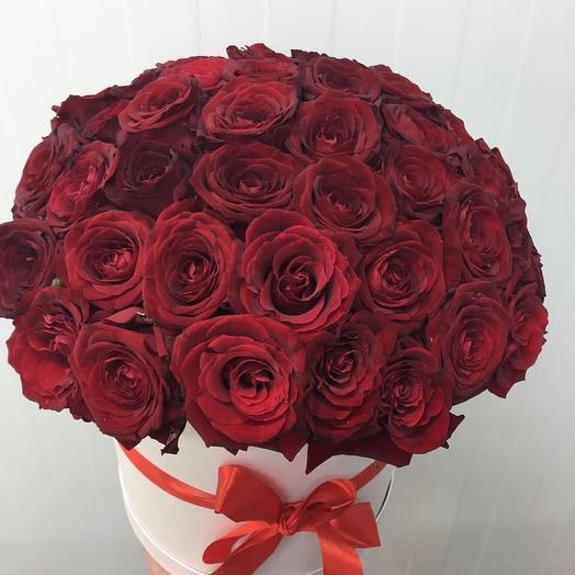 Красная роза: букеты цветов на заказ Flowwow