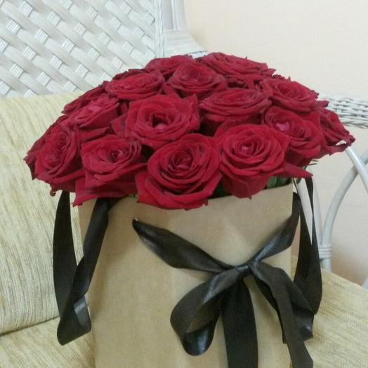 """Композиция """"Страсть"""": букеты цветов на заказ Flowwow"""