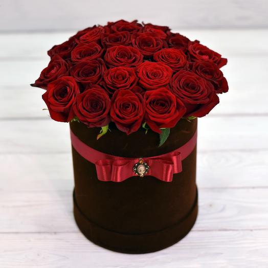Коробка Роскошь: букеты цветов на заказ Flowwow