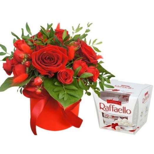"""Подарочный набор """" Райское наслаждение"""": букеты цветов на заказ Flowwow"""