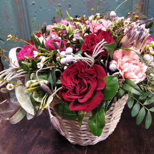 Вечерний поцелуй: букеты цветов на заказ Flowwow
