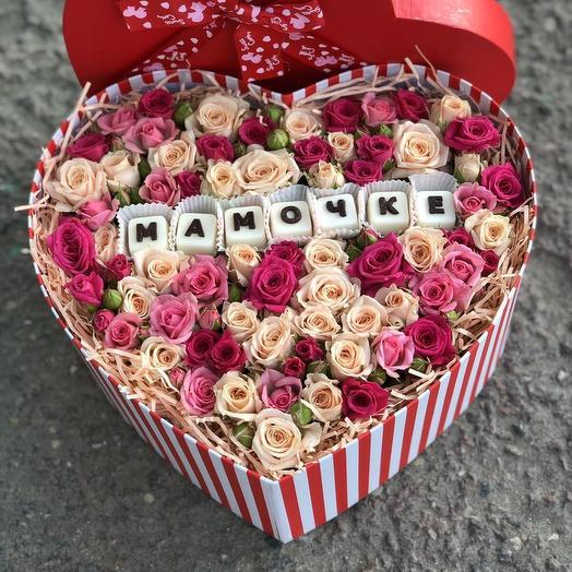 Букет откровение для мамочки: букеты цветов на заказ Flowwow