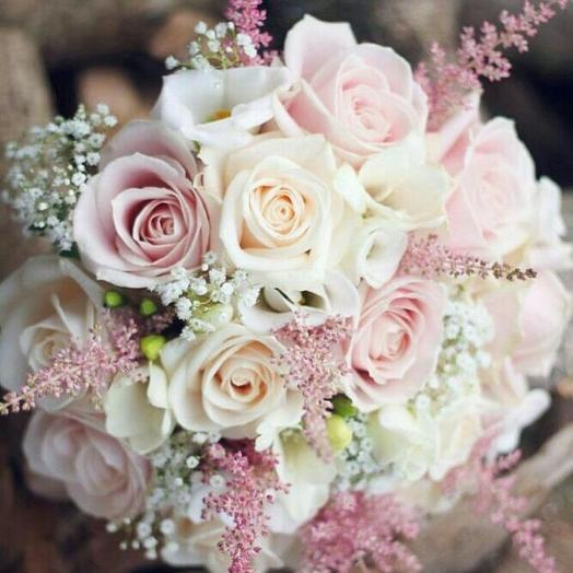 Свадебный 2: букеты цветов на заказ Flowwow