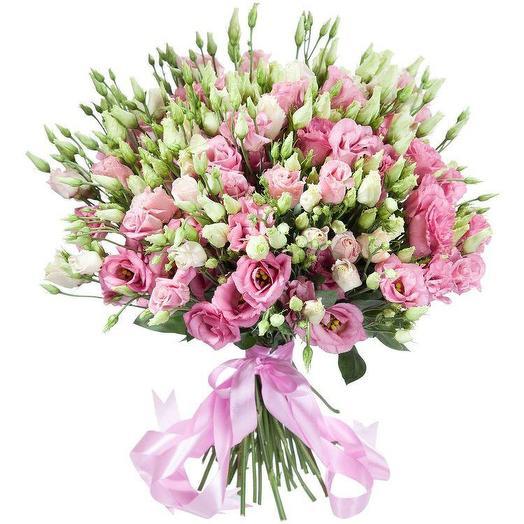 Эустома 51 штука: букеты цветов на заказ Flowwow