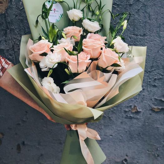 """Букет """"Майские розы"""": букеты цветов на заказ Flowwow"""
