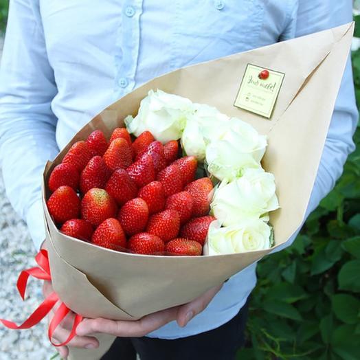 Букет-конверт: букеты цветов на заказ Flowwow