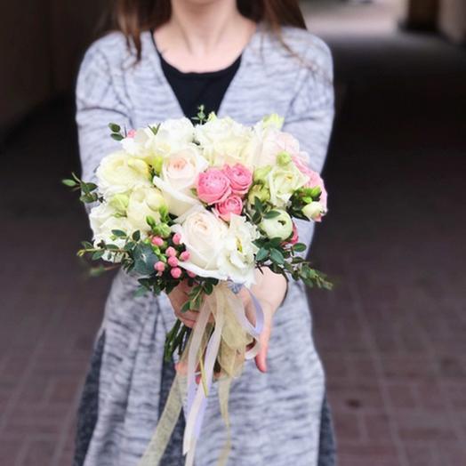"""Свадебный букет """"Просто любовь"""": букеты цветов на заказ Flowwow"""