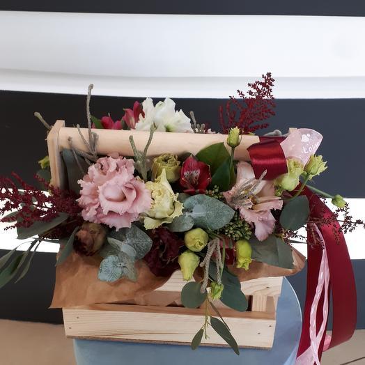 Румянец: букеты цветов на заказ Flowwow