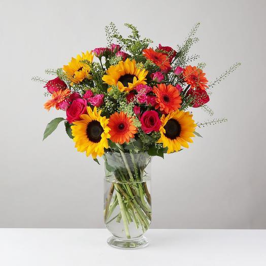 """Букет """"Праздник Лета"""": букеты цветов на заказ Flowwow"""