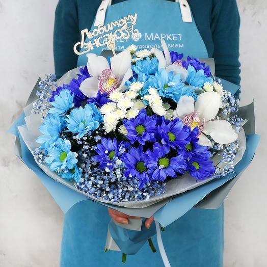 Букет  Любимому Сэнсэю: букеты цветов на заказ Flowwow