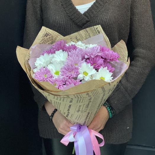 Миссис хризантема: букеты цветов на заказ Flowwow
