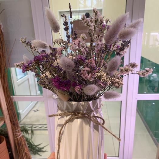Лавандовая вазочка: букеты цветов на заказ Flowwow