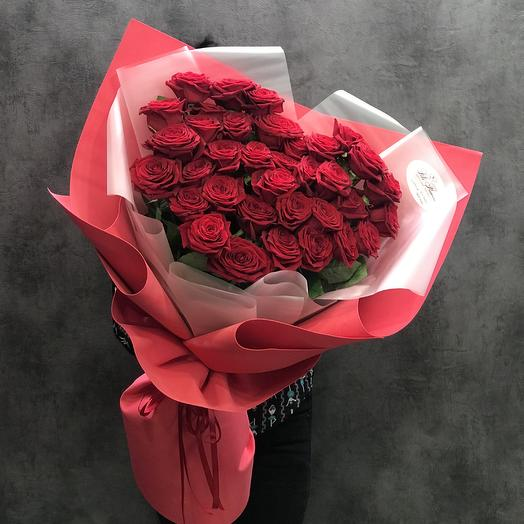 Букет из роз в форме сердца: букеты цветов на заказ Flowwow