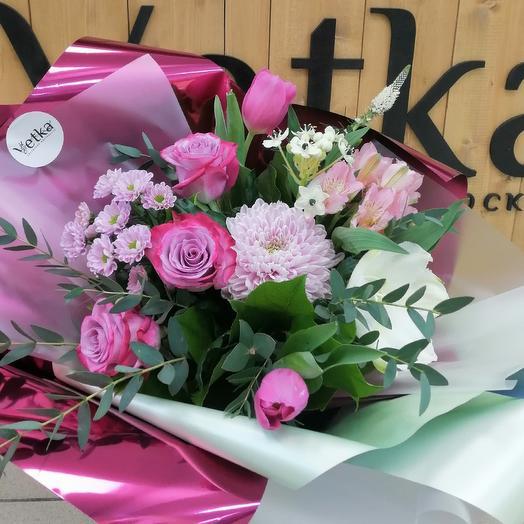 Букет Рассвет: букеты цветов на заказ Flowwow
