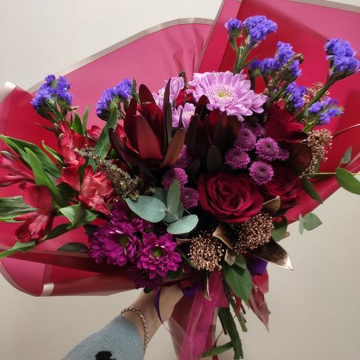 Дорогому человеку: букеты цветов на заказ Flowwow