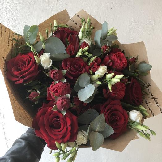 Red passion: букеты цветов на заказ Flowwow