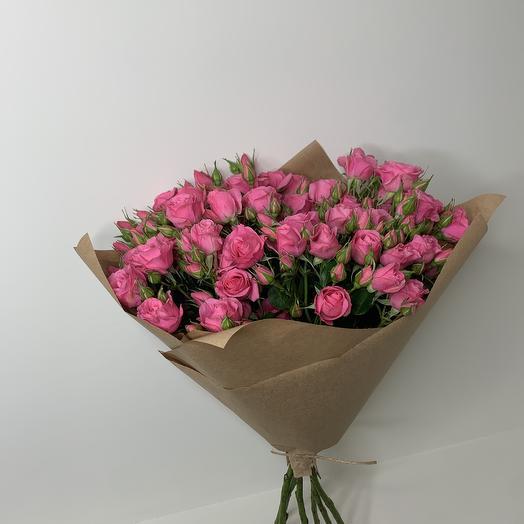 Кустовые розы XL: букеты цветов на заказ Flowwow