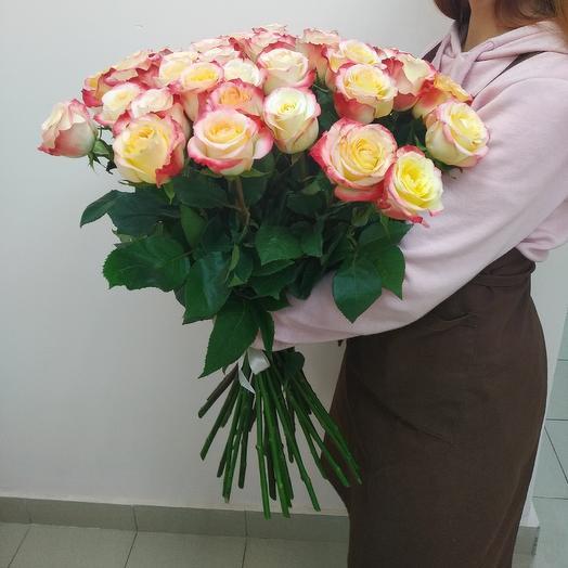 45 роз: букеты цветов на заказ Flowwow