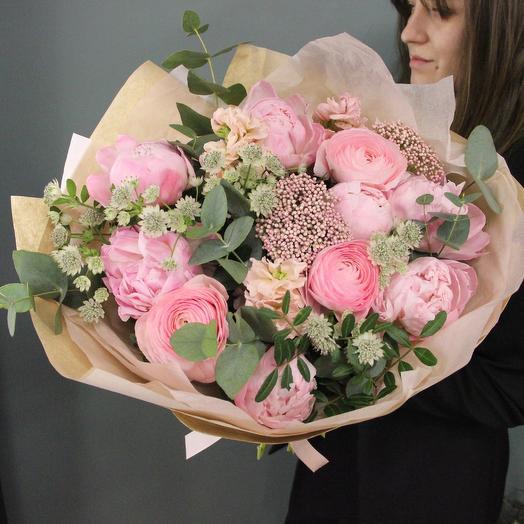 Ягодный чизкейк: букеты цветов на заказ Flowwow