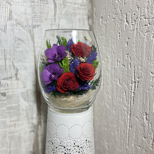 Розы и орхидеи в Колбе: букеты цветов на заказ Flowwow