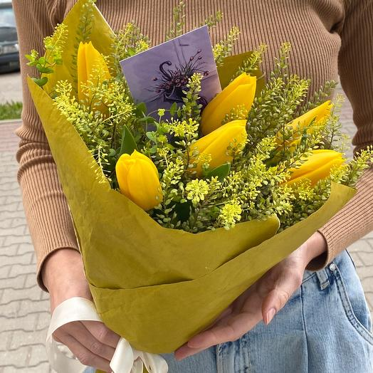 Мохито 🥝🥝🥝: букеты цветов на заказ Flowwow