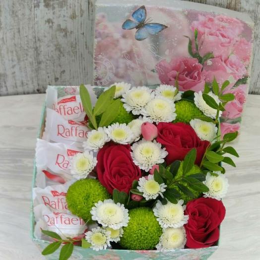 Цветы и раффаэлло
