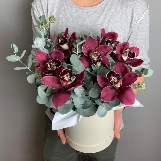 Коробочка «Стильная Орхидея»