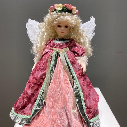 Кукла из фарфора коллекционная