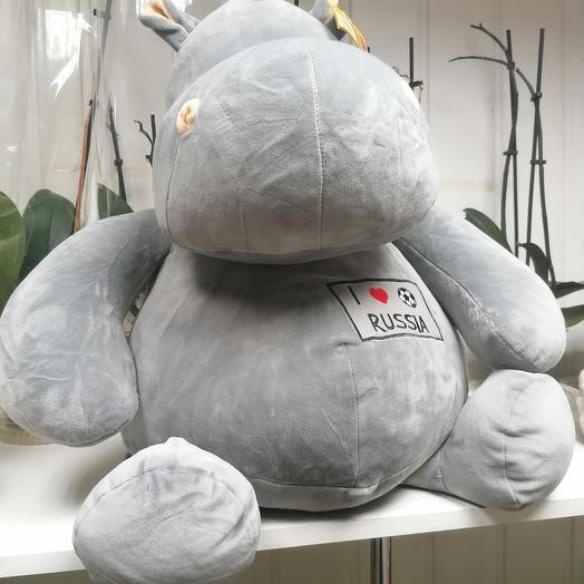 The Hippo soft toy