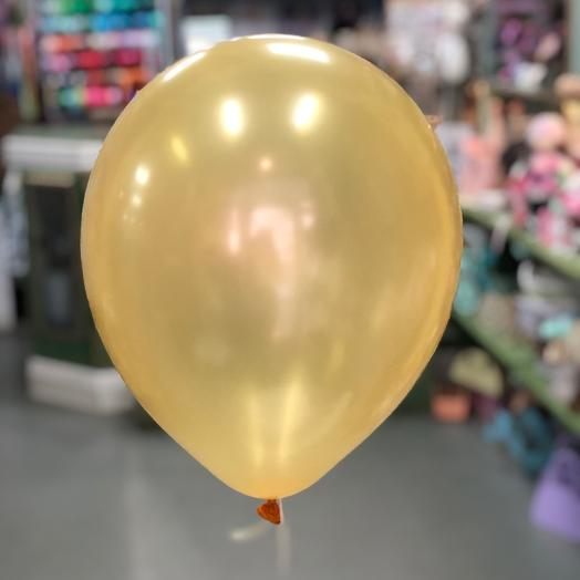 Воздушный шар золотой