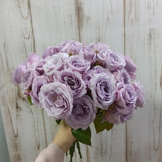 Ароматные кустовые розы