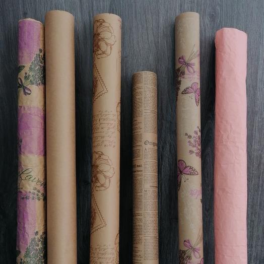 Craft design / pressed paper