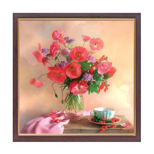 Картина Розовый Мак