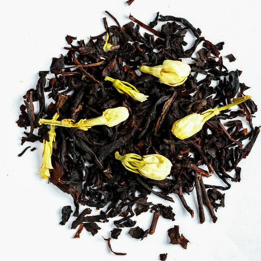 Чёрный с жасмином 50 гр