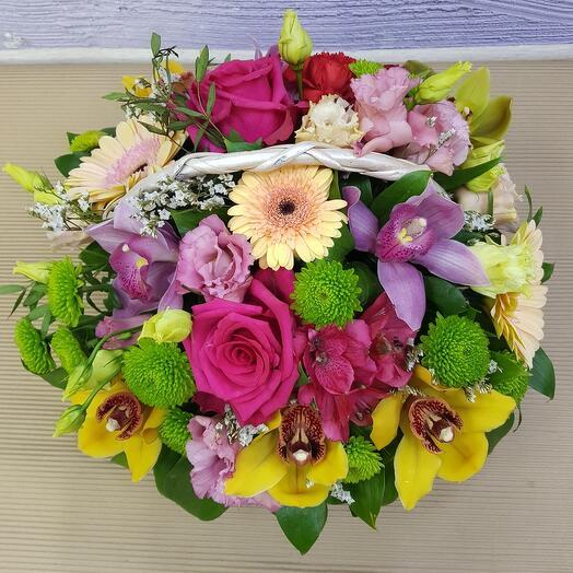 Корзина с цветами (1)