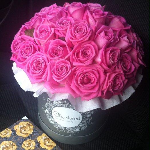 Букет Сomp iment: букеты цветов на заказ Flowwow